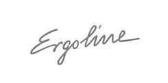 Logo alb negru Ergoline