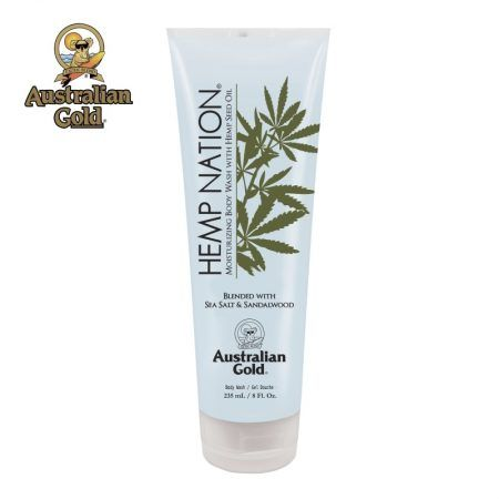 Hemp Nation Sea Salt & Sandalwood Body Wash
