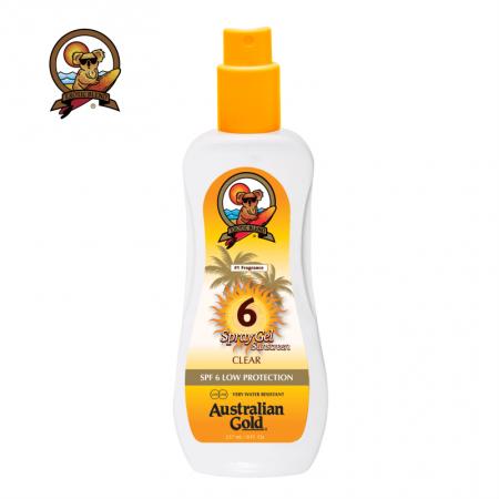 Australian Gold SPF 6 Spray Gel