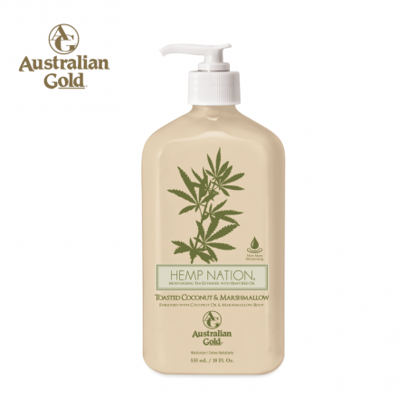 Hemp Nation Toasted Coconut & Marshmallow Body Lotion