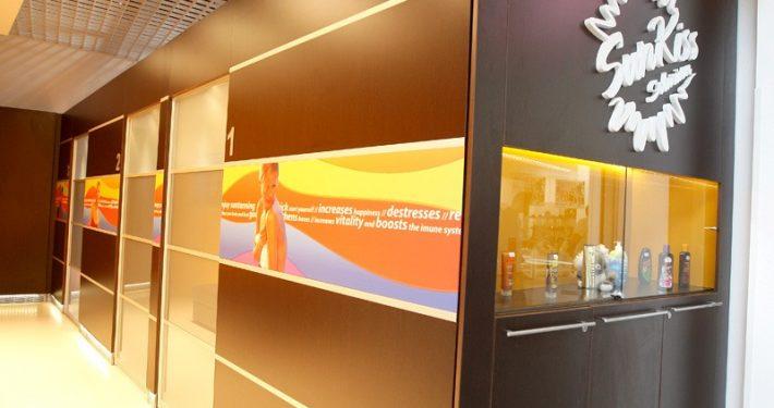 Cabine de bronzare SunKiss