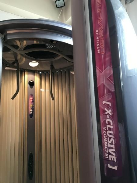 Aparat solar Alisun Sunvision V200 vertical reconditionat
