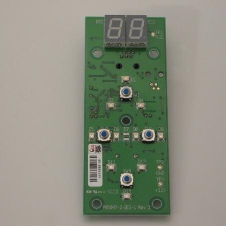 Placa electronica display Hapro Luxura V7