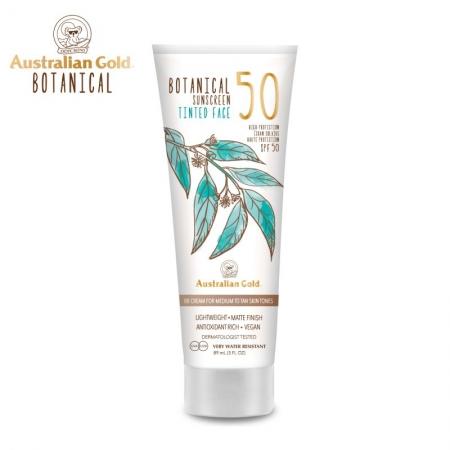 Australian Gold Botanical SPF50 Tinted Face Medium to Tan