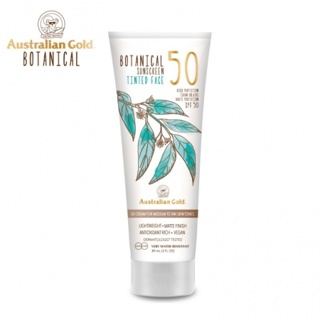Australian Gold Botanical SPF50 Tinted Face Medium to Tan