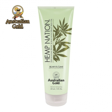 Hemp Nation Agave & Lime Body Scrub