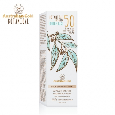 Australian Gold Botanical SPF50 Tinted Face Fair to Light