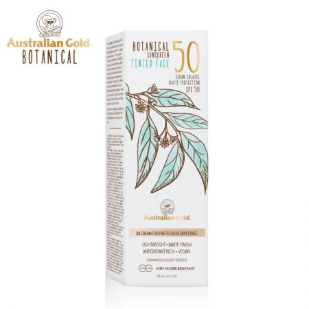 Australian Gold Botanical SPF50 Tinted Face Fair to Light