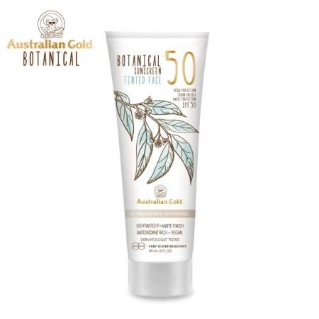 Australian Gold Botanical SPF 50 Tinted Face Fair to Light